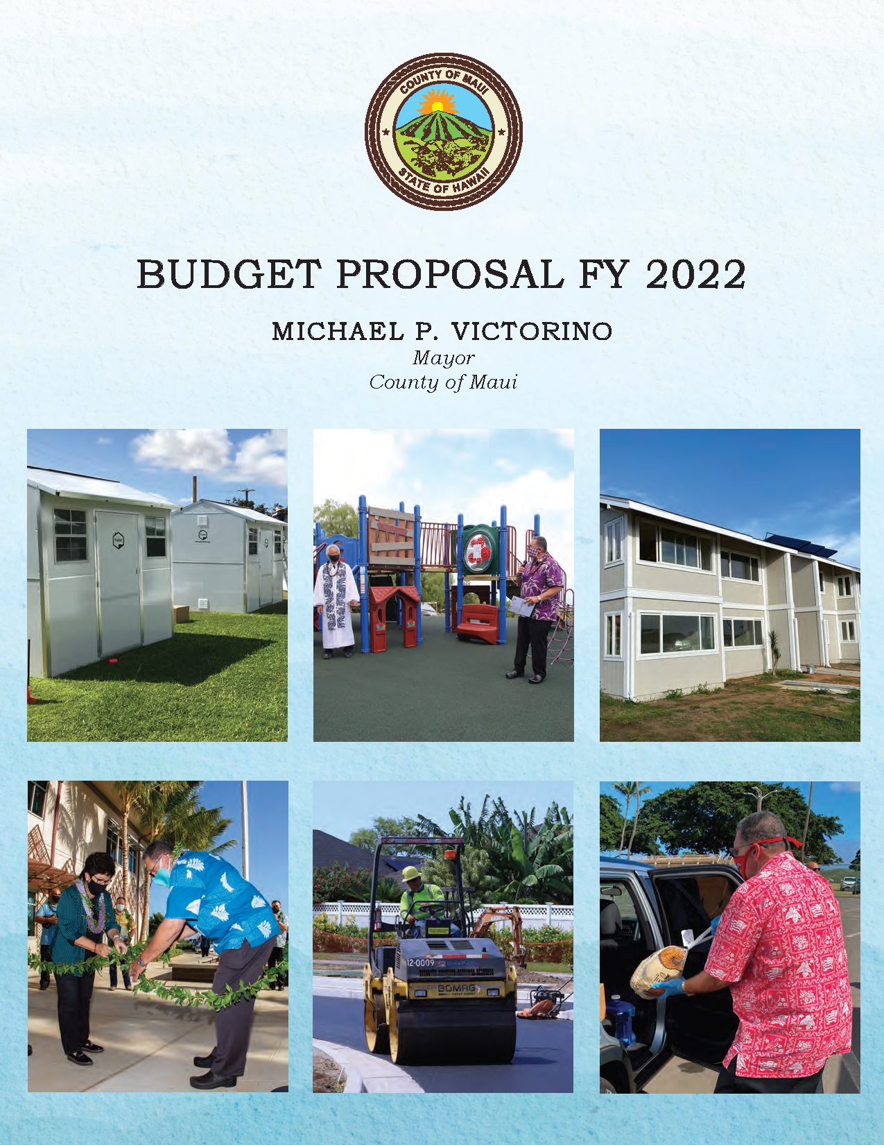 FY 2022 Mayors Proposed Budget